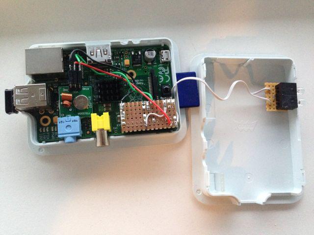 Raspberry Pi IR remote – nPham